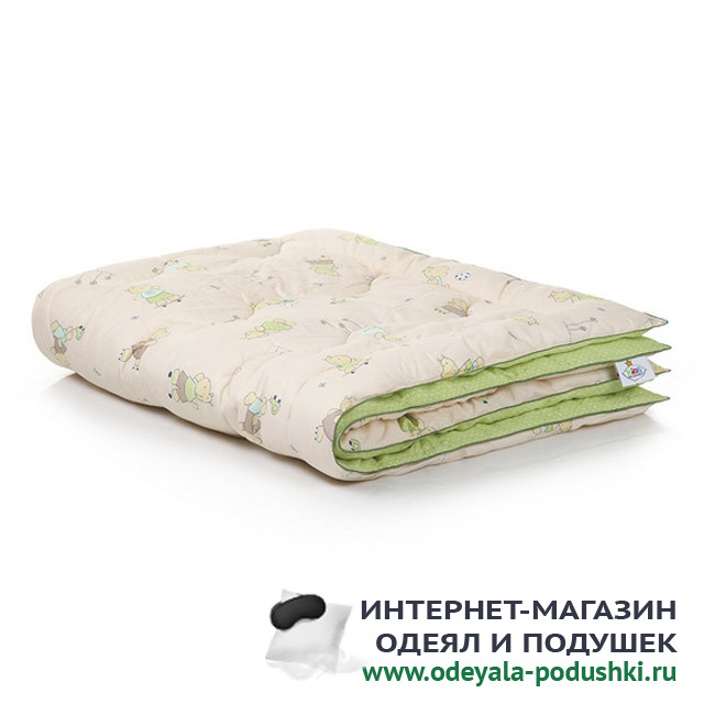 Одеяло Belashoff Kids Наша умничка лебяжий пух (110х140 см)