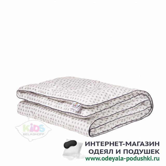 Одеяло Belashoff Kids Наша умничка лебяжий пух лёгкое (110х140