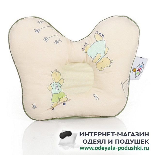 Подушка Belashoff Kids Наша умничка бабочка лебяжий пух (23х29 см)